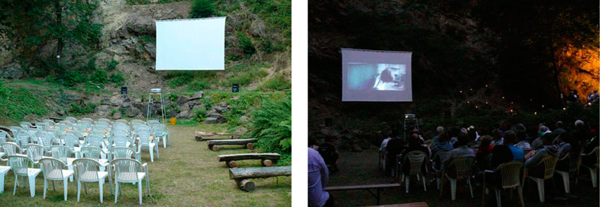 open air kino steinbruch